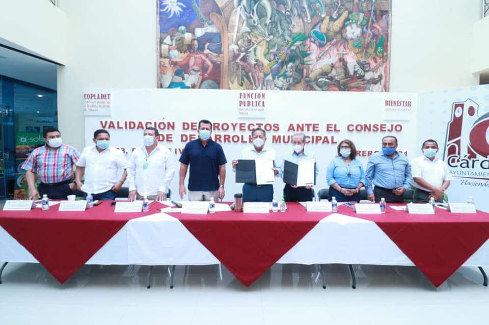 CONSOLIDA GOBIERNO MUNICIPAL DE CÁRDENAS, INVERSIÓN HISTÓRICA PARA EL MUNICIPIO A TRAVÉS DEL CONSEJO DE DESARROLLO MUNICIPAL.