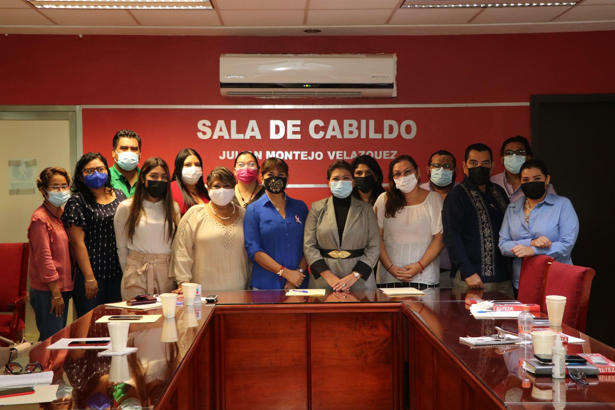 Se reúne el Gobierno de Cárdenas con autoridades del Instituto Estatal de las Mujeres para fortalecer y continuar con el trabajo de esta importante dependencia en el municipio.